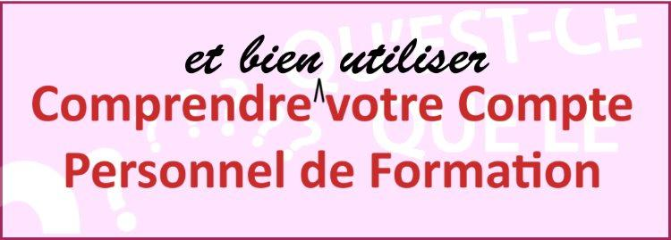 We are here to help you with your CPF. Nous vous aidons avec les formalités CPF.